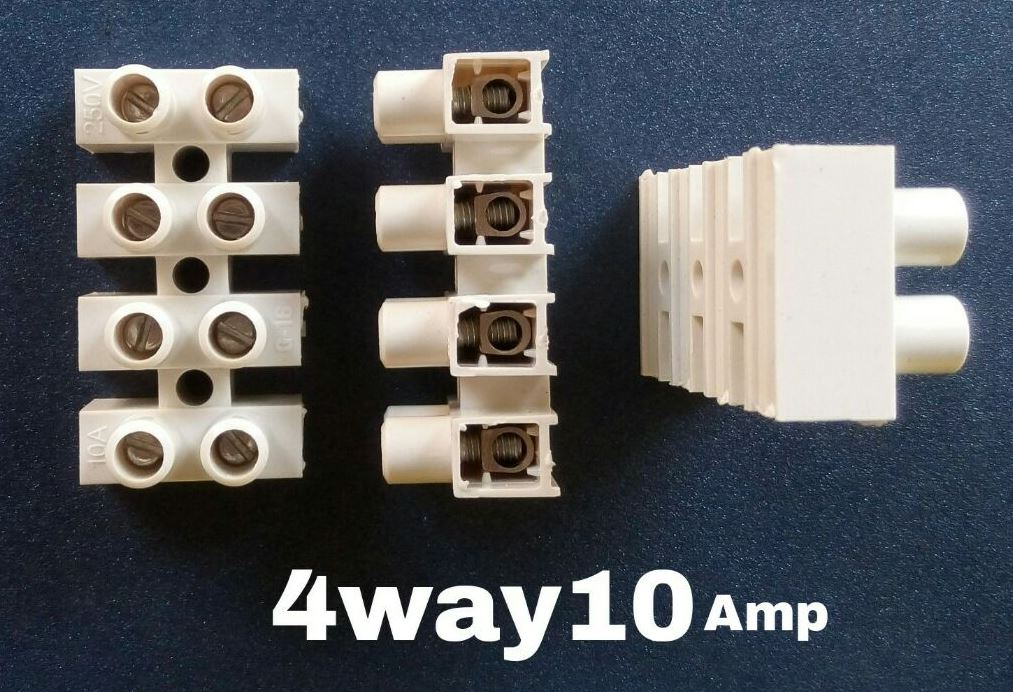Manufacturer and Supplier of Connector 4 Way 10 Amps in Mumbai ...